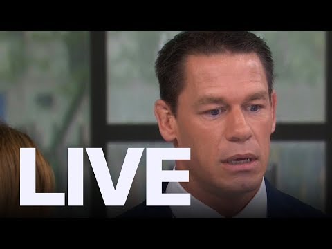 John Cena Shares Heartbreak On 'Today Show' | ET Canada LIVE