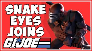 Snake Eyes Joins the Battle in G.I. Joe: War on Cobra