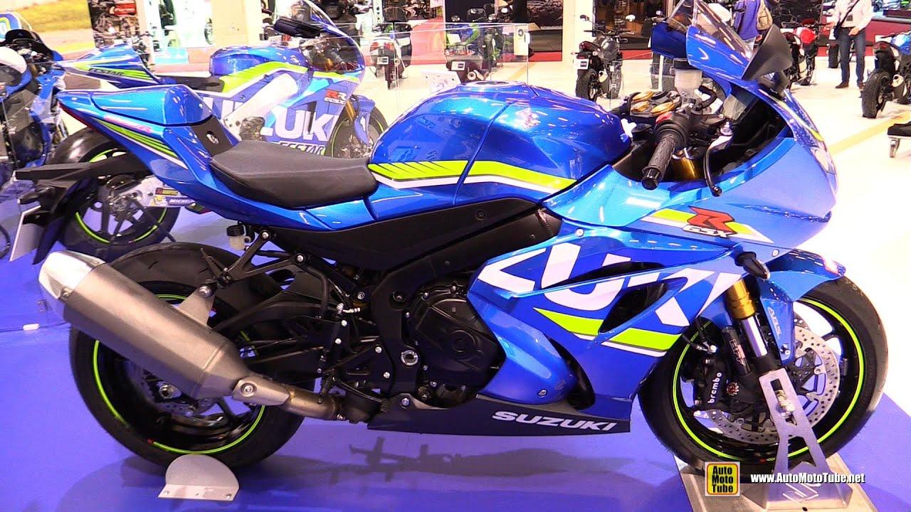 2017 suzuki gsxr 1000 walkaround 2015 salon de la moto paris youtube. Black Bedroom Furniture Sets. Home Design Ideas