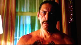A Very Harold and Kumar Christmas- Harold Snaps on Father-in-Law (Danny Trejo)