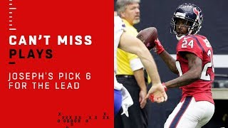 Johnathan Joseph's Pick 6 Late in the Game to Take the Lead vs. Bills