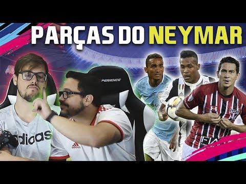 DESAFIO DO FUTDRAFT COM TEMPO: SÓ OS PARÇAS DO NEYMAR!