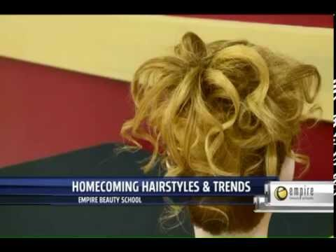 Empire Beauty School Provides Homecoming Hairstyles and Trends in Grand Rapids