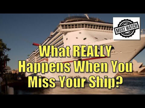 What REALLY Happens When You Miss Your Cruise Ship w/ John Heald