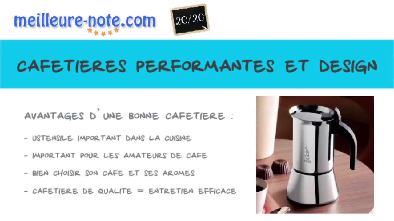 quelle cafetiere design choisir meilleure note youtube. Black Bedroom Furniture Sets. Home Design Ideas
