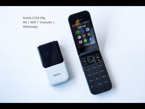 Unboxing Nokia 2720 Flip | 4G | Wi-Fi | Bangla |Technews | Whatsapp