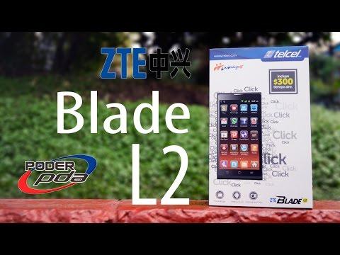 ZTE Blade L2 - Unboxing en Español