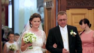 Видеосъемка свадьбы в Москве, студия KitCut. Свадебный шоу-рил.
