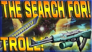Destiny - THE SEARCH FOR ZHALO! - (TROLLING WITH EXOTIC SWORD AND SHIELD!) #44