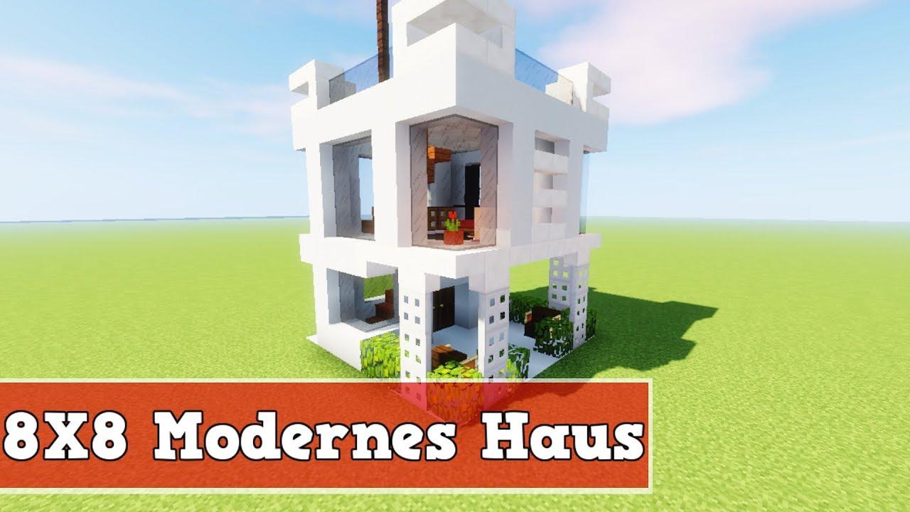 Wie Baut Man Ein X Modernes Haus In Minecraft Minecraft Modernes - Minecraft hauser bauen youtube