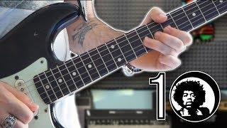 Top 10 Riffs: Jimi Hendrix