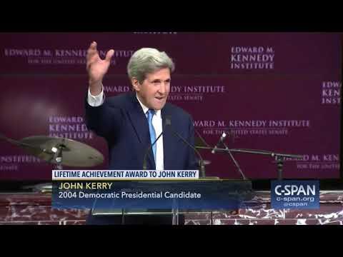 John Kerry Receives Lifetime Achievement Award (Nov. 26, 2017)