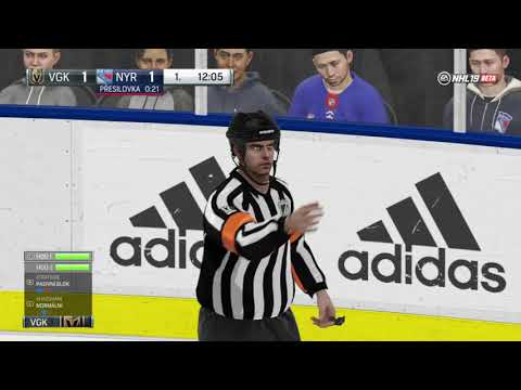 NHL™ 19 Beta Las Vegas Golden knights vs. New York Rangers online