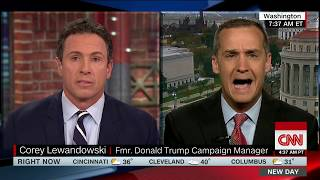 Lewandowski: Sure, Russians meddled -- for Hillary Clinton (CNN interview with Chris Cuomo)
