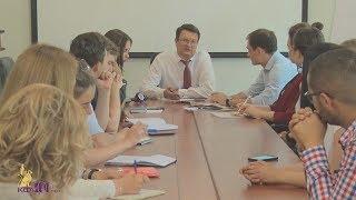 Встреча представителей Совета обучающихся с Андреем Фалалеевым – 5 июня 2018 г.