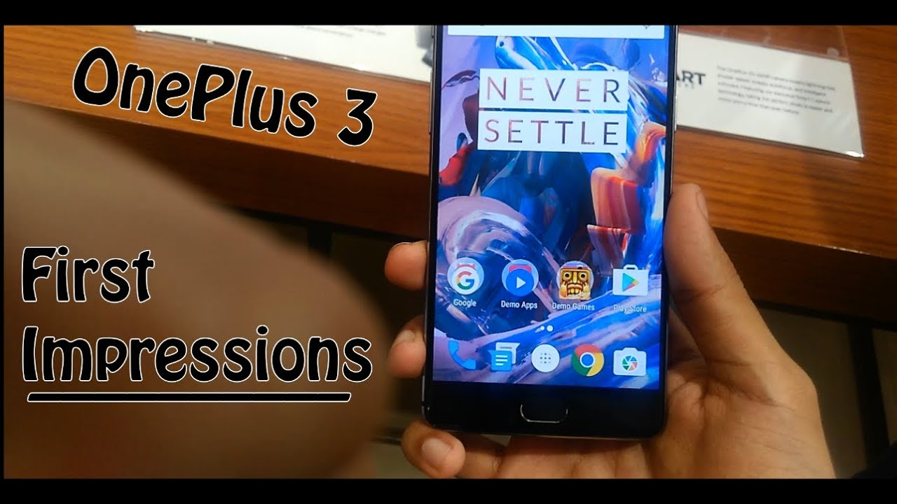OnePlus 3 First Impressions : Mumbai Pop-Up Event..!