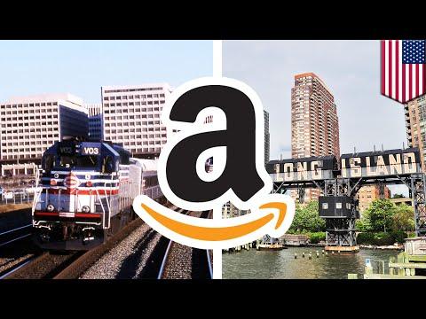 Amazon picks New York and DC area for new headquarters - TomoNews