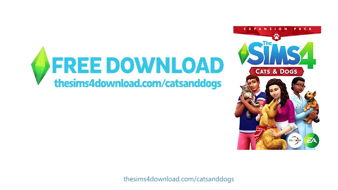 sims 4 cats and dogs free download mac