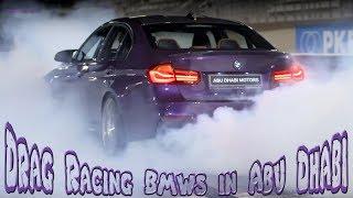 Drag Racing BMWs in Abu Dhabi!