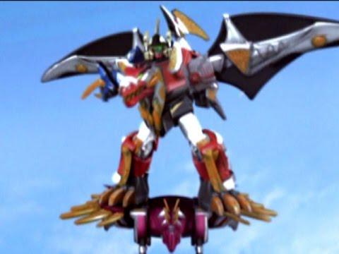 Power Rangers Dino Thunder - Valkasaurus Megazord Battle | Episode 30