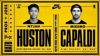 Nyjah Huston Vs Mike Mo Capaldi: BATB7 - Round 2