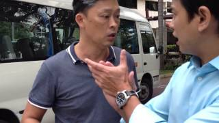 Singapore reckless abusive school bus driver 22 feb 2013 part 1/3