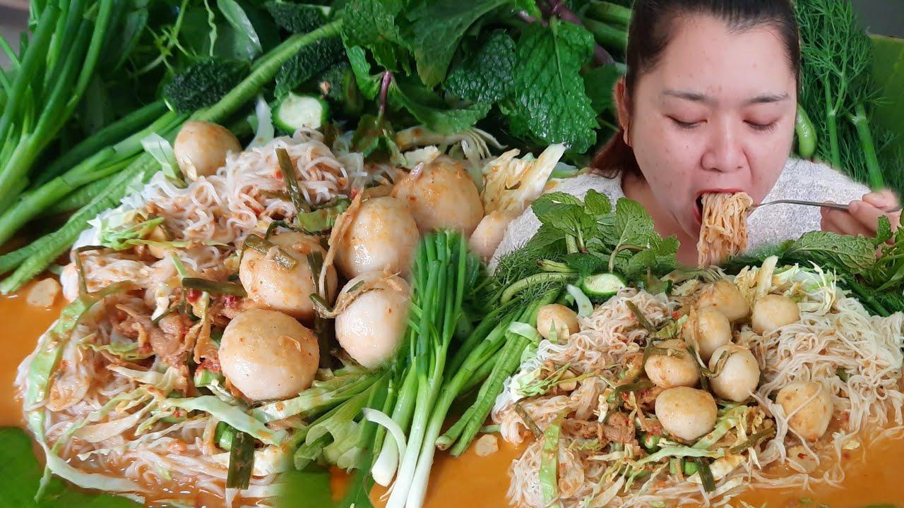 ขนมจีนน้ำยากะทิปลาร้าสูตรไม่ใส่ผงชูรส  22 มกราคม ค.ศ. 2021