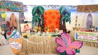 Party Supplies - How to Throw a Luau Party - Shindigz