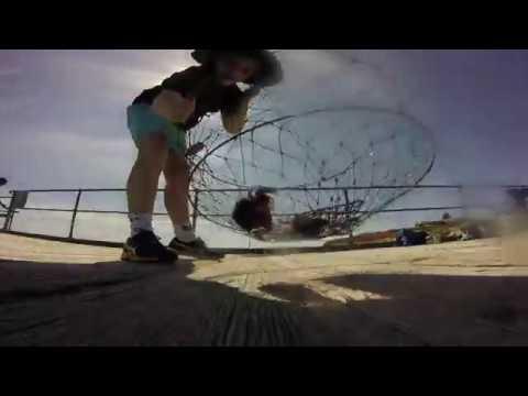 Port Noarlunga Jetty Crabbing/Squiding (so Many Doggies!!!) 30.9.18