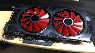 XFX RX 570 RS 4GB | The red-eyed graphics card!