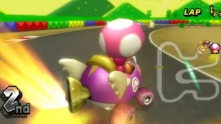 Mario Kart Wii - 150cc Lightning Cup Grand Prix (Toadette Gameplay)