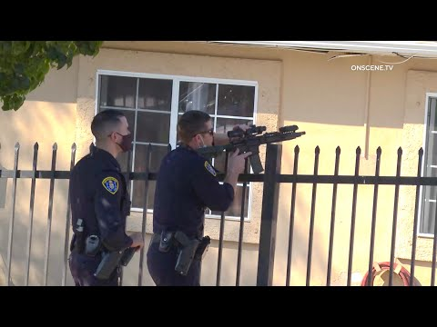 San Diego Police De-escalate Barricaded Suspect After 6 Hours