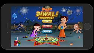Chhota Bheem Fireworks Game on..
