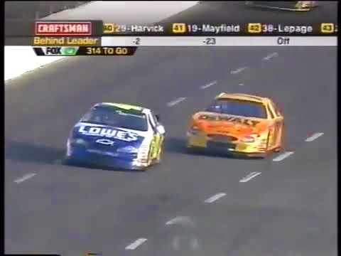 Coca-Cola Racing Family 600 | NASCAR Winston Cup | Lowe's Motor Speedway | 05/26/2002