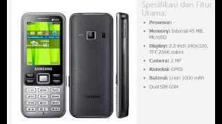 Harga Hp Samsung Duos C3322