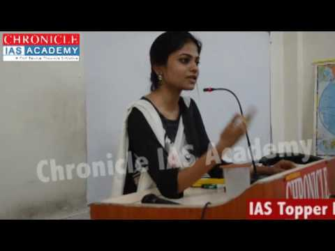 2. How to Start Preparation for General Studies by Ms. ARTIKA SHUKLA, Rank-4th In CSE-15