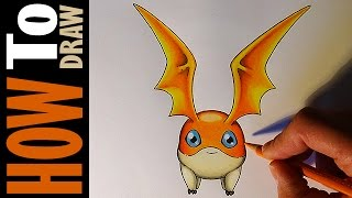 Digimon Adventure Tri Patamon - How to draw