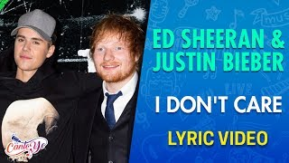 ed sheeran amp justin bieber i don39t care lyrics español video oficial