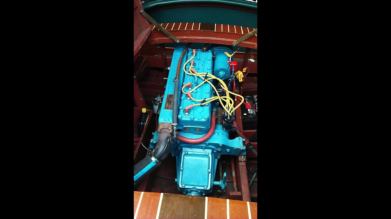 1937 Chris Craft First Startup After Full Rebuild Youtube Wiring Diagram
