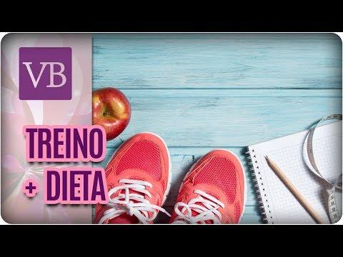 Alimentação + Treino Para Emagrecimento - Você Bonita (07/08/17)