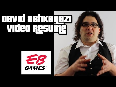 David Ashkenazi Video Resume