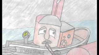 TUGS Drawing-Sunshine Frightened