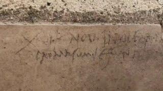 Pompei, l'iscrizione che cambia la data dell'eruzione