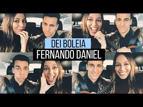 #DEIBOLEIA AO FERNANDO DANIEL E ELE CANTOU PARA MIM! (Sonhos, namorada e mais!)|Bárbara Corby
