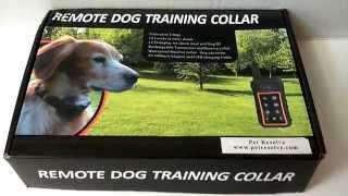 Pet Resolve Dog Training Collar Review