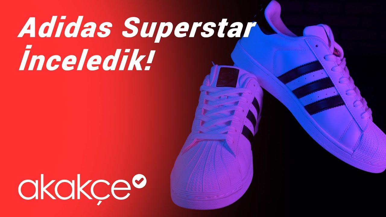 Adidas Superstar İnceleme
