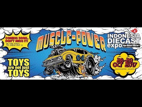 Serunya event Indonesia Diecast Expo (IDE) 4th, 28-29 Oktober 2017
