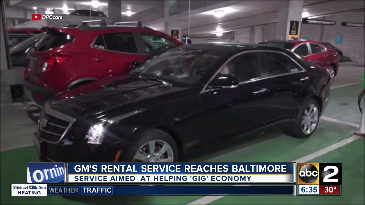 GM's Maven Gig Car Rental Service Comes To Baltimore