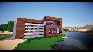 Minecraft Modern House Speed Build | Minecraft modern ház