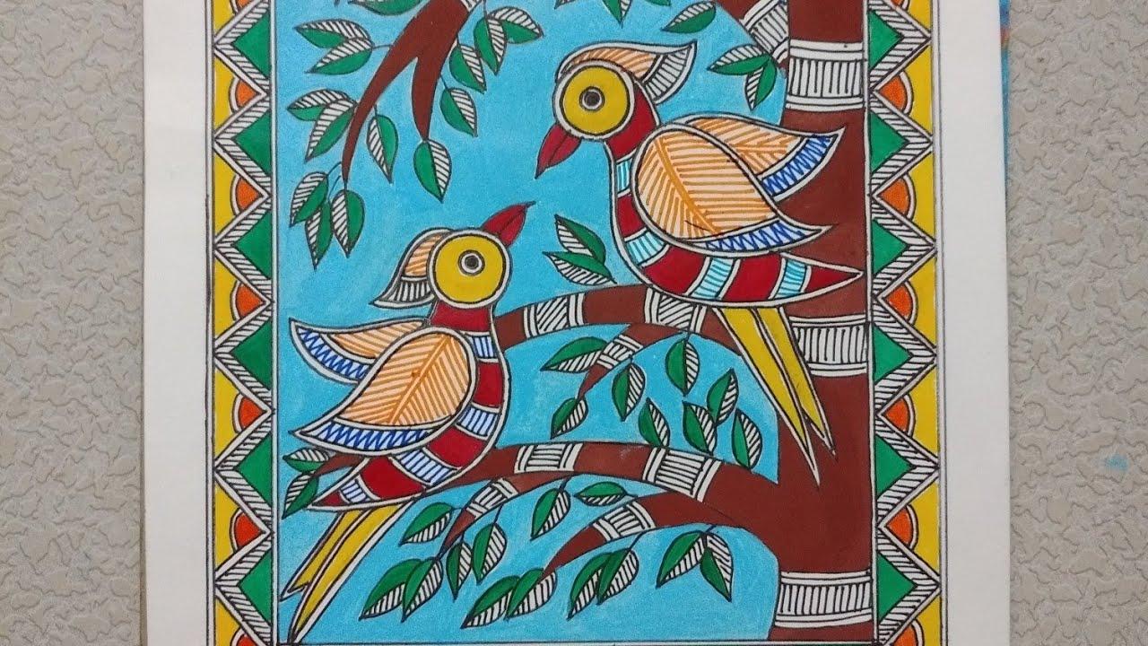 Madhubani painting Indian folk art